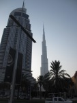 Burj Khalifa aus Distanz